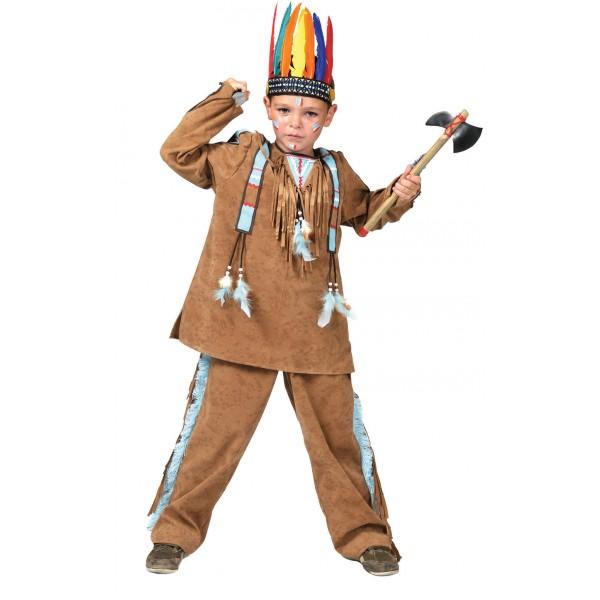 Anoki Indiaantje - Indianen Verkleedkleding - Kostuum Kind