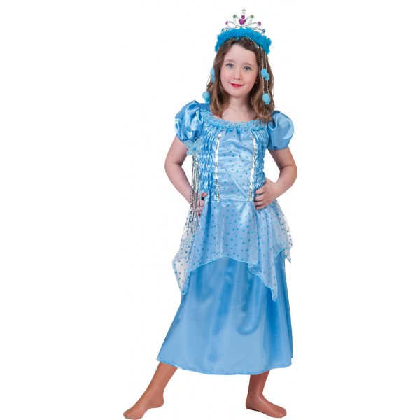 Aqua Prinses - Sprookjes Verkleedkleding - Kostuum Kind