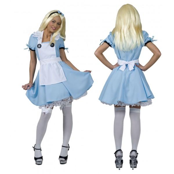 Alice in Wonderland - Sprookjes prinses - Kostuum vrouw