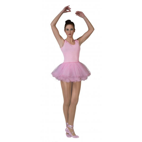 Roze Ballerina - Carnaval Verkleedkleding - Kostuum Vrouw