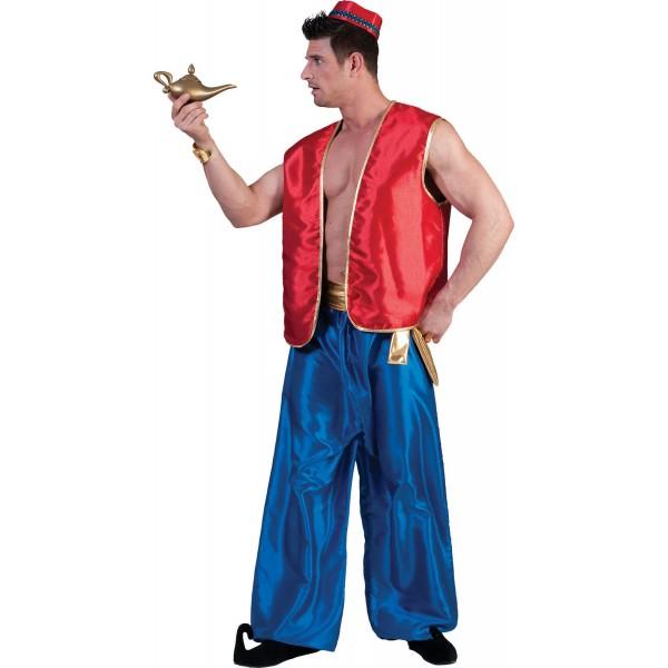 1001 Nachten Vest Rood - Arabische verkleedkleding - Kostuum