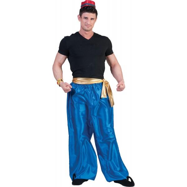 1001 Nachten Broek Blauw - Arabische verkleedkleding