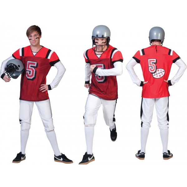 American footballer - Football - kostuum man