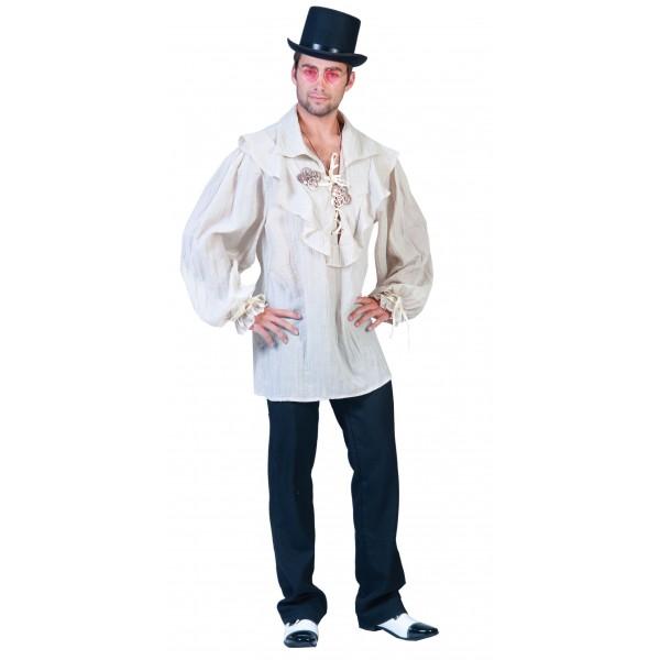 Air Pilot Shirt - Steampunk Verkleedkleding - Kostuum Man