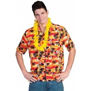 Hawaiiaans shirt - Hawaii / Hippie - Kostuum man