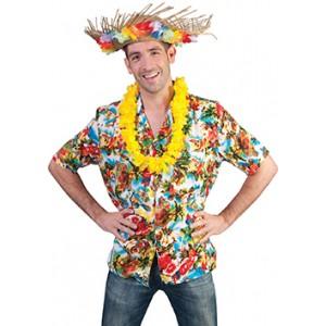 Paradijs Shirt - Verkleedkleding Hawaii / Hippie - Kostuum