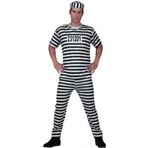 Gevangene Andy - Boeven Verkleedkleding - Kostuum Man
