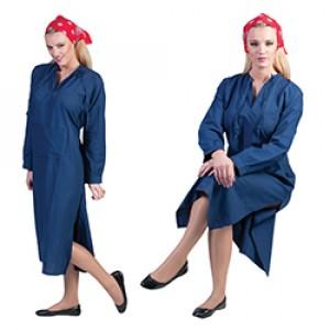 Overall - Boerin Verkleedkleding  - Kostuum Vrouw
