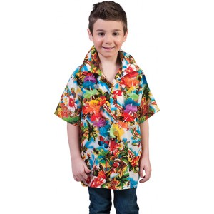 Hawaii Shirt - Verkleedkleding Hawaii - Kostuum Kind