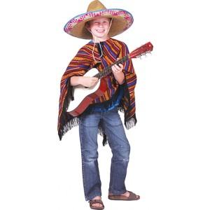 Poncho Diego - Verkleedkleding Zuid-Amerika - Kostuum Kind