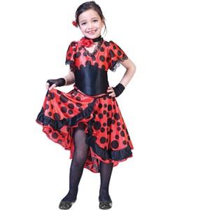 Senorita Evita - Spaanse Verkleedkleding - Kostuum kind