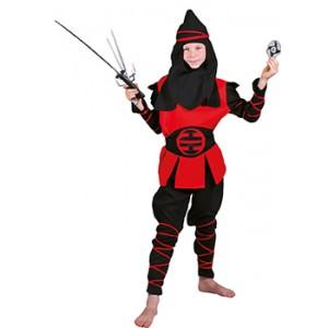 Kung Fu Ninja - Verkleedkleding Japan - Kostuum Kind