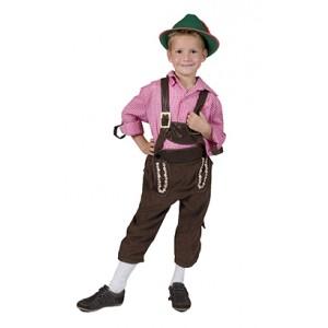 Tiroler Rolf - Lederhose Oktoberfest - kostuum Kind
