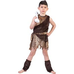 Holbewoner - Prehistorische verkleedkleding - Kostuum Kind
