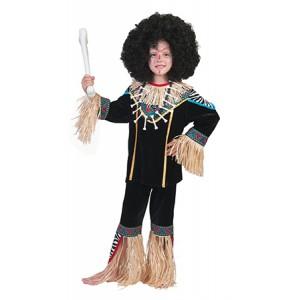 Oermens Zoeloe -Verkleedkleding Afrika - Kostuum Jongen