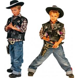 Kleine Sherrif - Cowboy Verkleedkleding - Kostuum Kinderen