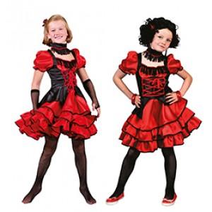 Can Can Rosalie - Cowboy Verkleedkleding - Kostuum Kinderen