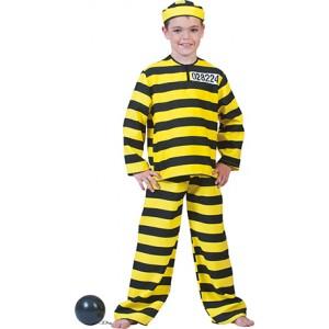 Dalton Gevangene - Boeven Verkleedkleding - Kostuum Kind