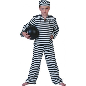 Gevangene - Boeven Verkleedkleding - Kostuum Jongen