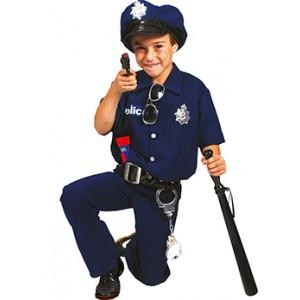 Politie agent - Politie Verkleedkleding - Kostuum Jongen
