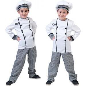 Chef Remy - Horeca Verkleedkleding- Kostuum Kinderen