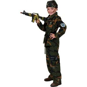Army Soldaat - Verkleedkleding Leger - Kostuum Jongen