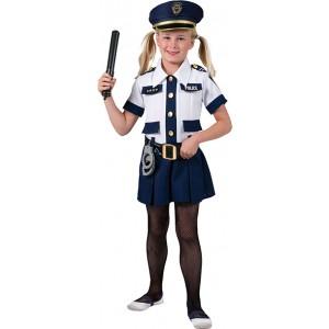Politieagente - Verkleedkleding Politie - Kostuum Meisje