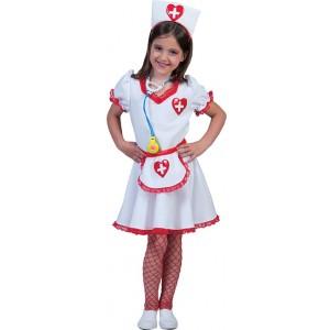 Kleine Verpleegster - Zusters verkleedkleding - Kostuum Vrouw