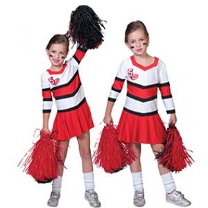 Cheerleader Angie - Sport Verkleedkleding - Kostuum Kind