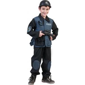 ME Politieagent - Verkleedkleding Politie - Kostuum Jongen