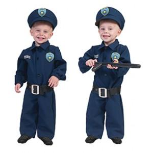 Kleine Politieagent - Verkleedkleding Politie - Kostuum Baby