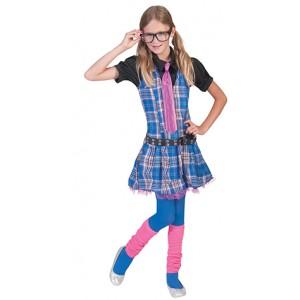 Nerd School Kostuum - Student Verkleedkleding  kostuum Kind