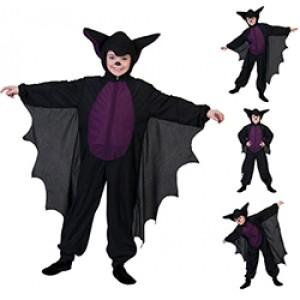 Vleermuis - Verkeedkleding Halloween - Kostuum Kinderen