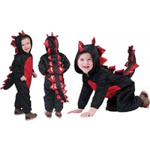 Duistere Draak - Verkleedkleding Halloween - Kostuum Kind