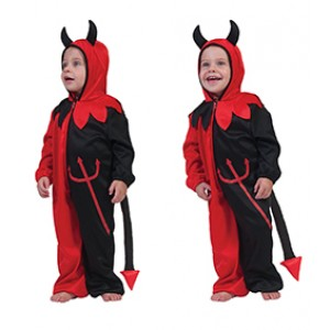 Kleine Duivel - Verkleedkleding Halloween - Kostuum Baby