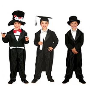 Zwarte Bruidegoms Jas - Trouw Verkleedkleding - Kostuum Kind