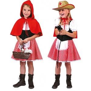 Roodkapje - Disney Carnaval Verkleedkleding  Kostuum Kind