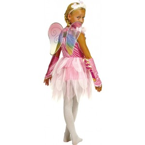 Fee Flora - Fantasie Carnaval Verkleedkleding - Kostuum Kind