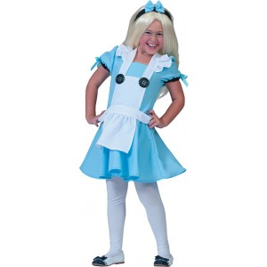 Alice in Wonderland - Carnaval Verkleedkleding  Kostuum Kind