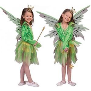 Elf Nora - Fantasie Verkleedkleding - Kostuum Kind