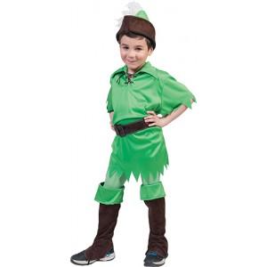 Peter Pan - Disney Carnaval Verkleedkleding - Kostuum Kind
