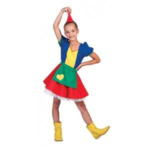 Kleine Dwergin - Carnaval Verkleedkleding - Kostuum Kind