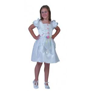 Witte Prinses - Sprookjes Verkleedkleding - Kostuum Kind