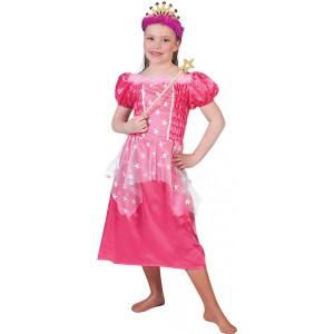 Roos Prinses - Sprookjes Verkleedkleding - Kostuum Kind