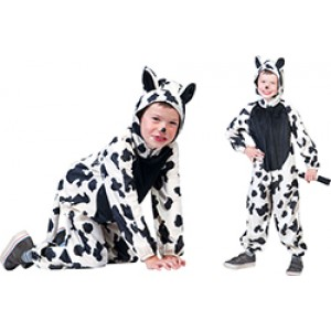 Boerderij Koe - Carnaval Verkleedkleding - Kostuum Kind