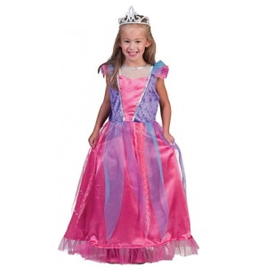 Luxe Prinses Lily - Sprookjes Verkleedkleding  Kostuum Kind