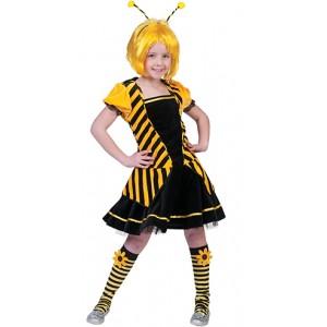 Betty de Bij Jurk - Carnaval Verkleedkleding - Kostuum Kind