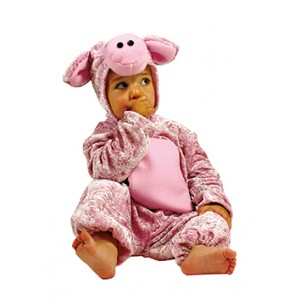 Boerderij Varken - Carnaval Verkleedkleding - Kostuum Baby