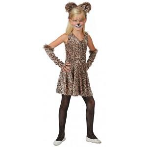 Wilde Kat - Carnaval Verkleedkleding - Kostuum Kind