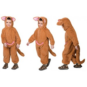 Kangaroo - Carnaval Verkleedkleding - Kostuum Kind